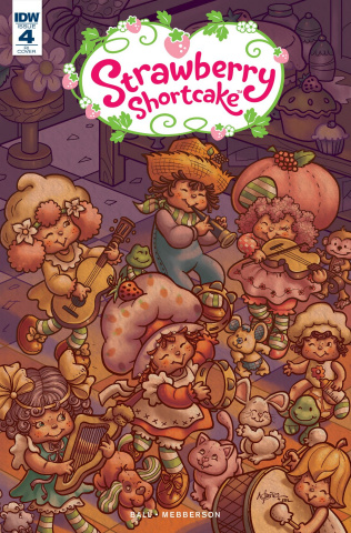 Strawberry Shortcake #4 (10 Copy Cover)
