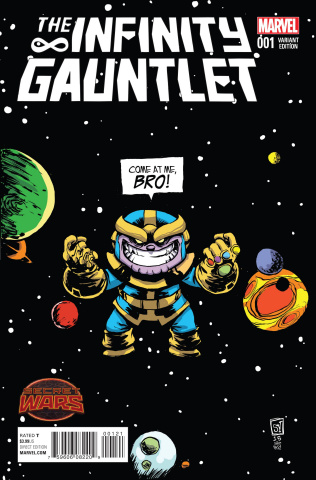 The Infinity Gauntlet #1 (Young Cover)