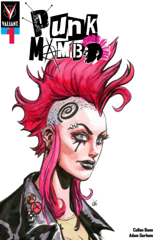 Punk Mambo #1 (100 Copy Punk Brereton Cover)