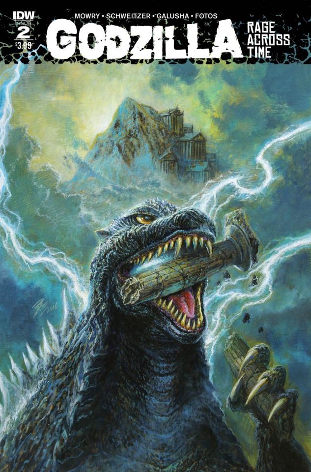 Godzilla: Rage Across Time #2