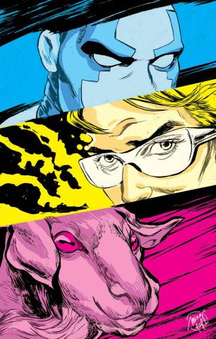 Quantum & Woody #8 (Doyle Cover)