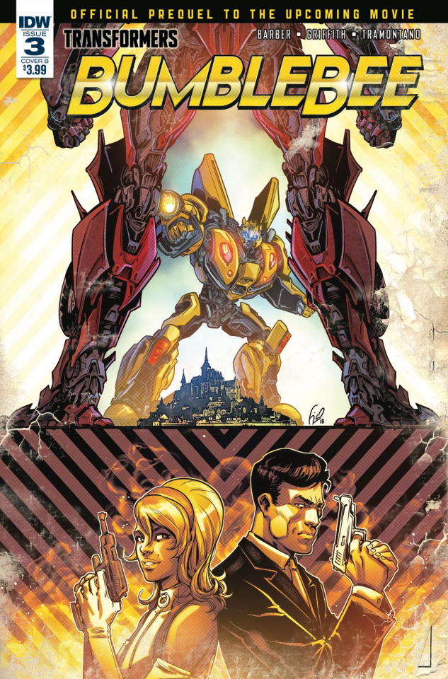 Transformers: Bumblebee Movie Prequel #3 (Ossio Cover)