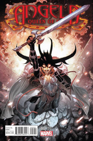 Angela: Queen of Hel #2 (Jacinto Cover)