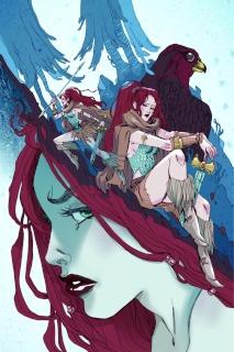 Red Sonja #3 (Rare Sauvage Virgin Art Edition)