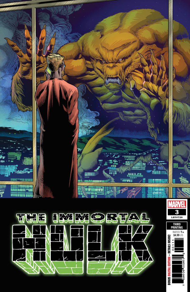 The Immortal Hulk #3 (Brown 3rd Printing)