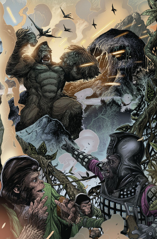 Kong on the Planet of the Apes #2 (Connecting Magno Cover)