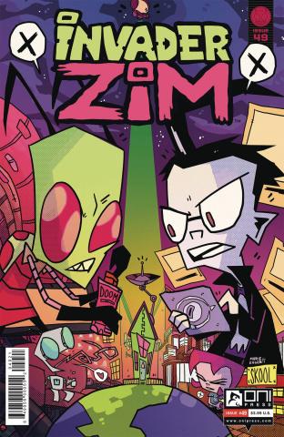 Invader Zim #49 (Enger Cover)