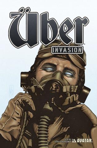 Über: Invasion #4 (Propaganda Poster Cover)