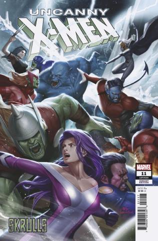 Uncanny X-Men #11 (Inhyuk Lee Skrulls Cover)
