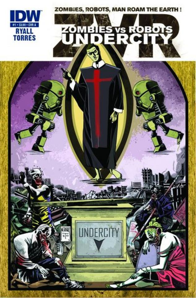 Zombies vs. Robots: Undercity #1