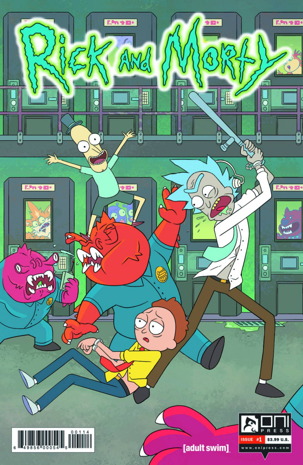 Rick and Morty #1 (4th Printing)