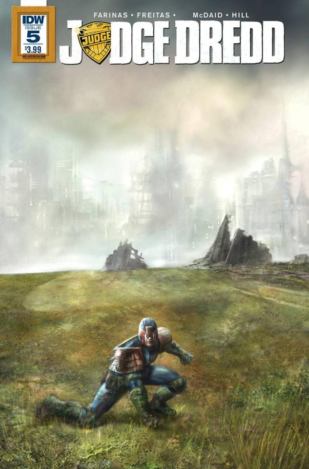 Judge Dredd #5 (Art Appreciation Cover)