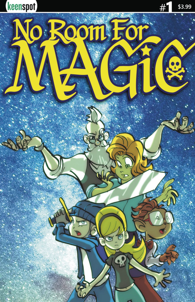No Room for Magic #1 (Ramos Cover)