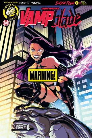 Vampblade, Season Four #3 (Young Risque Cover)