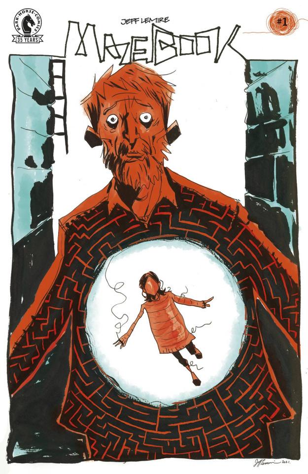 Mazebook #1 (Lemire Cover)