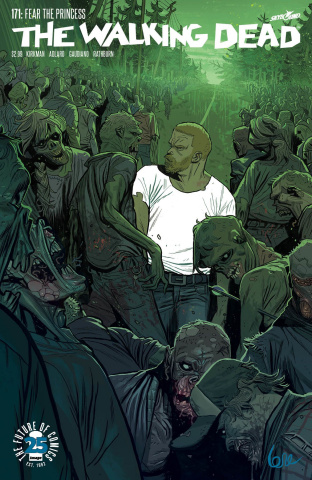 The Walking Dead #171 (Lorenzo De Felici Cover)