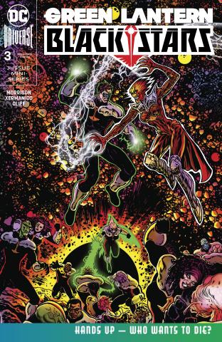 Green Lantern: Blackstars #3