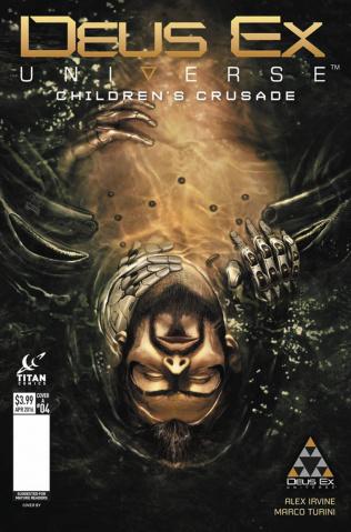 Deus Ex #4 (Sabran Cover)