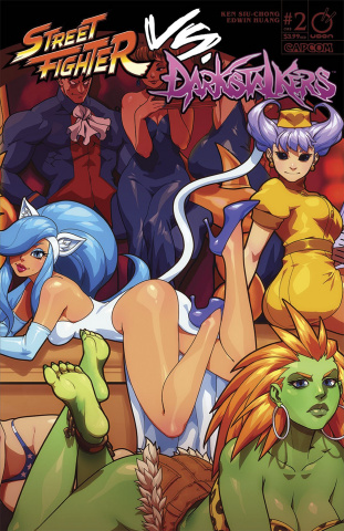 Street Fighter vs. Darkstalkers #2 (Porter Cover)