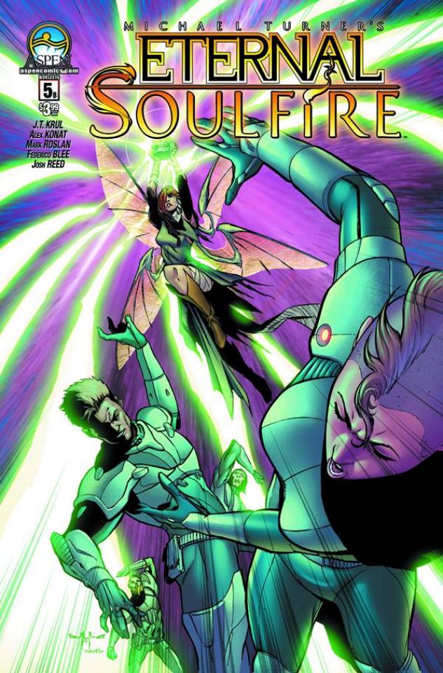 Eternal: Soulfire #5 (Qualano Cover)