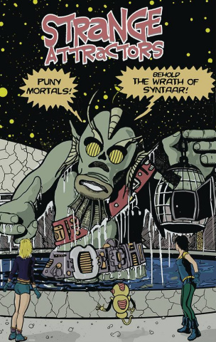 Strange Attractors #4 (Michael Cohen Cover)