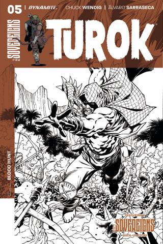 Turok #5 (20 Copy Lopresti B&W Cover)