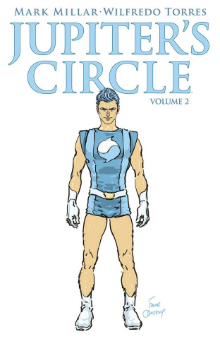 Jupiter's Circle #5 (Quitely Cover)