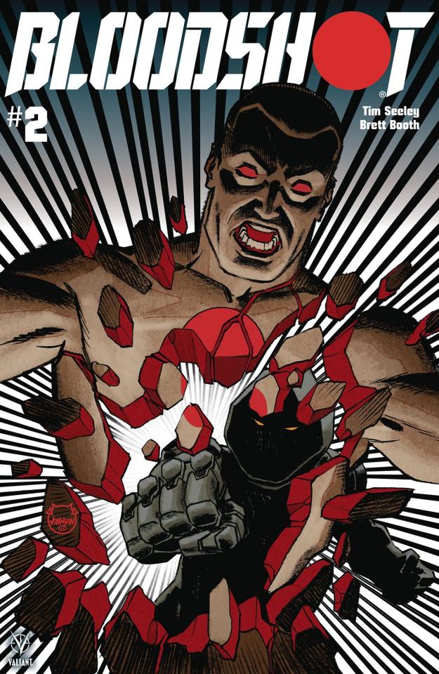 Bloodshot #2 (Johnson Cover)