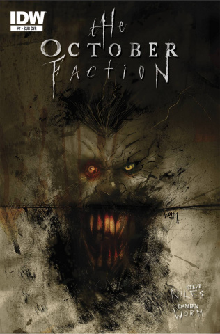 The October Faction #7 (Subscription Cover)