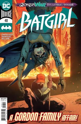 Batgirl #48 (Giuseppe Camuncoli Cover)