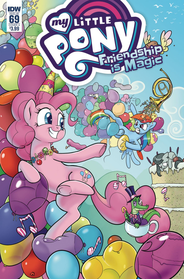 My Little Pony: Friendship Is Magic #69 (Kuusisto Cover)