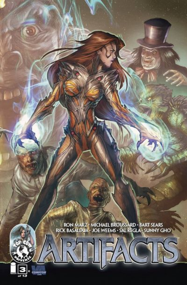 Artifacts #3 (Witchblade Cover)