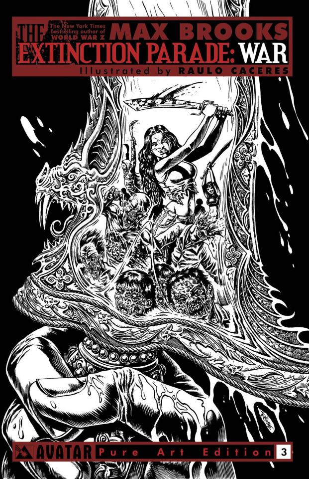 The Extinction Parade: War #3 (Pure Art Cover)