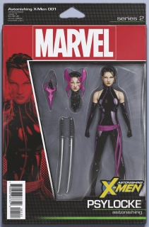 Astonishing X-Men #1 (Christopher Action Figure Cover)