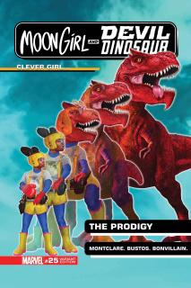 Moon Girl and Devil Dinosaur #25 (Morphing Cover)