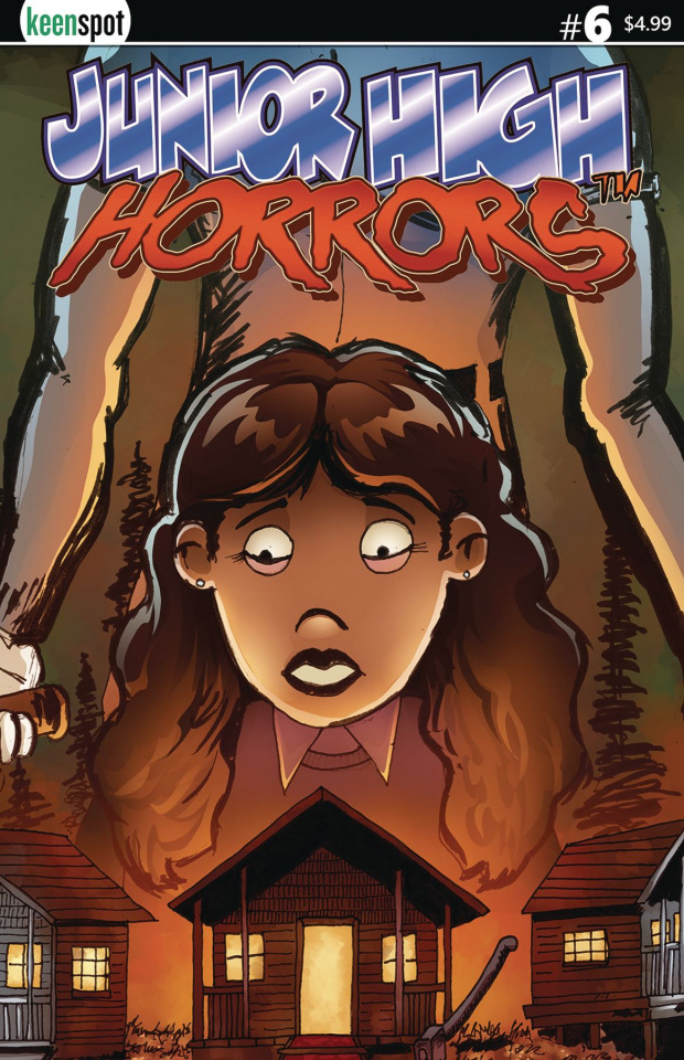 Junior High Horrors #6 (Sleepaway Camp 5 Copy Cover)