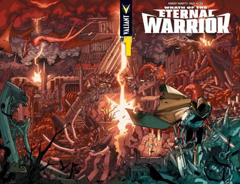 Wrath of the Eternal Warrior #1 (Wraparound Lafuente Cover)
