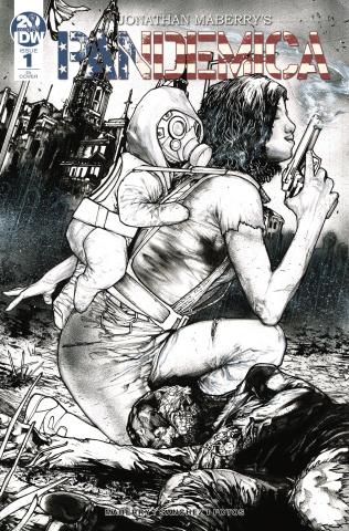 Pandemica #1 (10 Copy Sanchez Cover)