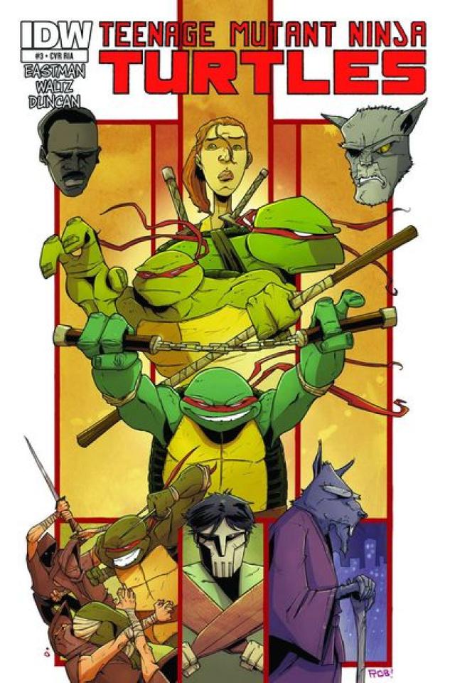 Teenage Mutant Ninja Turtles #6