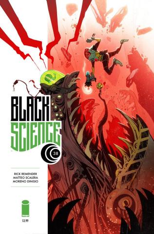Black Science #38 (Creature Box Cover)
