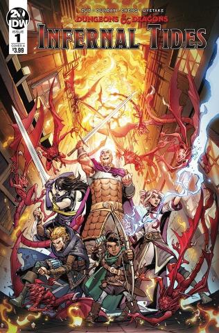 Dungeons & Dragons: Infernal Tides #1 (Dunbar Cover)