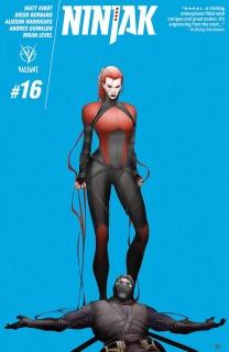 Ninjak #16 (Pham Cover)