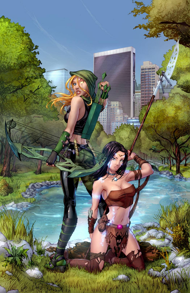 Grimm Fairy Tales: Robyn Hood - The Legend #3 (Ehnot Cover)