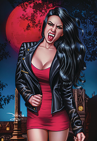 Van Helsing: The Sword of Heaven #1 (Santacruz Cover)