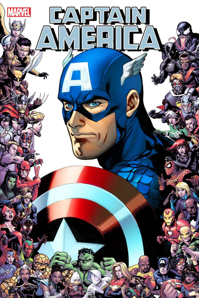 Captain America #13 (Lupacchino Marvel 80th Anniversary Frame Cover)