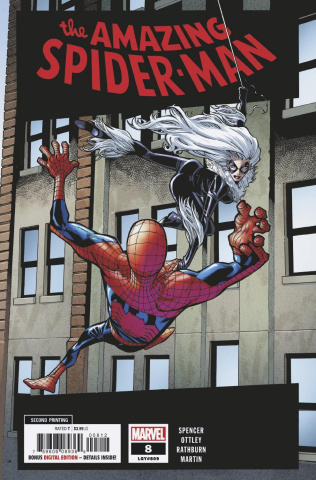 The Amazing Spider-Man #8 (Ramos 2nd Printing Cover)