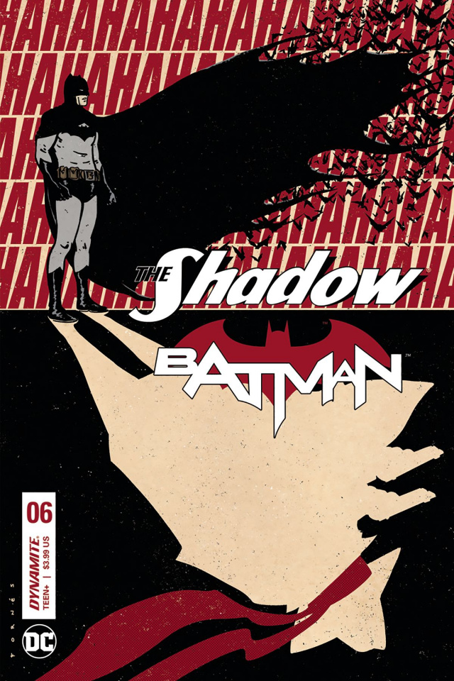 The Shadow / Batman #6 (Fornes Cover)