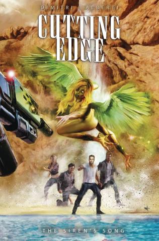 Cutting Edge: The Siren's Song #2 (Turini Cover)