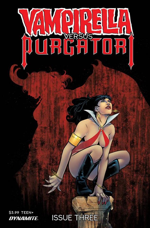 Vampirella vs. Purgatori #3 (Premium Sarraseca Cover)