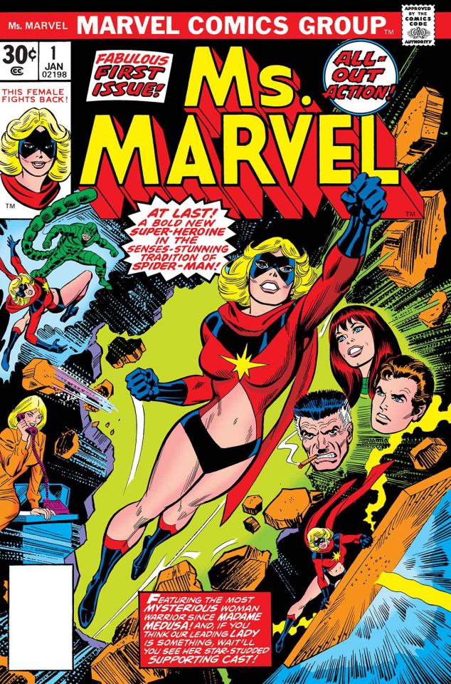 Captain Marvel: Ms. Marvel #1 (True Believers)